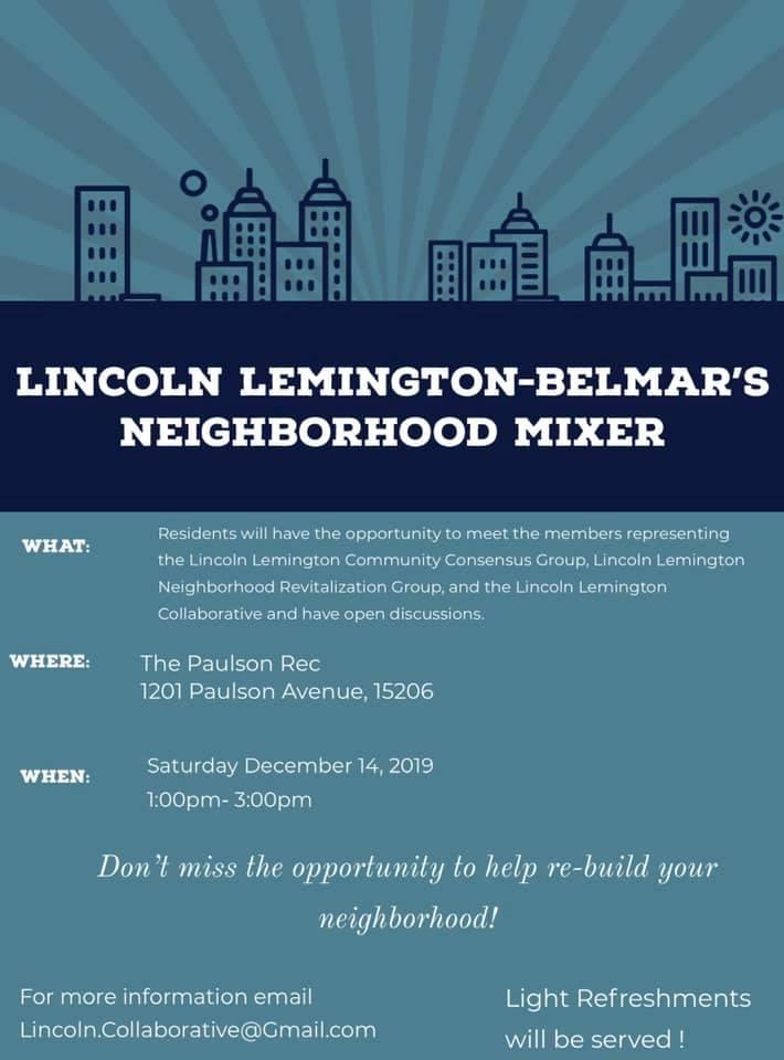 Lincoln Lemington Community Meeting